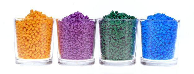 Buntes Masterbatch Kunststoffgranulat