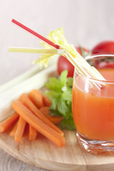 juice from fresh vegetables