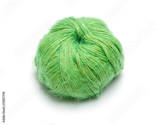 Ball of Green Wool
