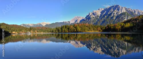 Mittenwald Lauterssee Karwendelblick