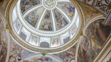 CEILING OF A CHURCH