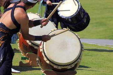 和太鼓の演奏