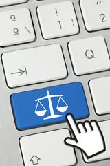 Justice keyboard ket finger 2