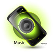 Smartphone music player