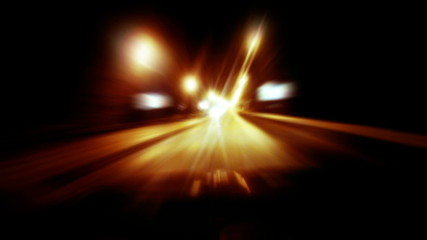 Night drive, HD.