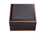 leather box isolated