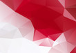 red white Geometric background vector eps 10