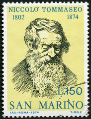 SAN MARINO - 1974: shows Niccolo Tommaseo (1802-1874)