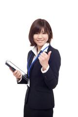 若い女性スタッフ