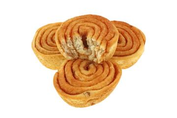Mini Cinnamon Pecan Sweet Rolls Bitten
