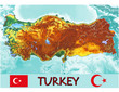Turkey Asia Europe national emblem map symbol motto