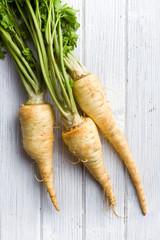 fresh parsnip