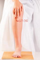 Acupuncture ST36 Leg Three Miles ZUSANLI