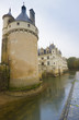 CHENONCEAU, FRANCE - November 2012: Castle on November, 2012 in