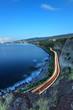 Circulation sur le littoral ouest de La Réunion.