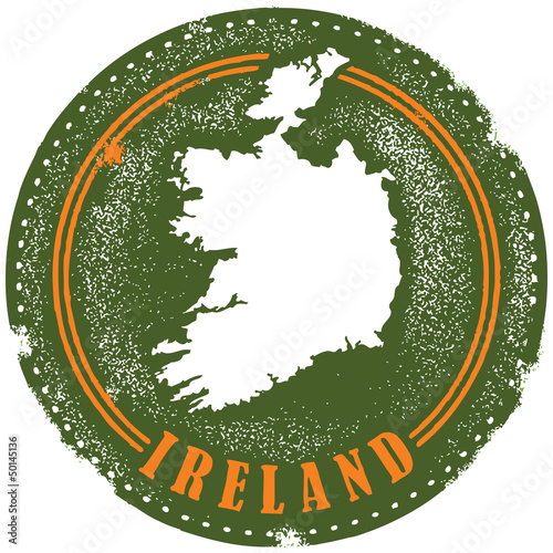 Ireland Europeean Country Stamp