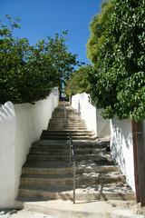 escalier de notre dame de la garde à marseille