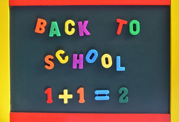 Back to School and Numbers