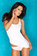 Seductive woman in lingerie
