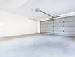 Leinwanddruck Bild - Empty garage