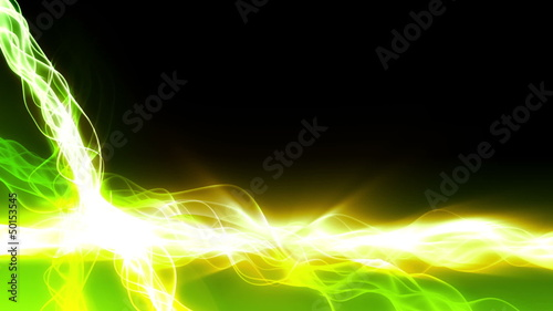 Magic Light Streaks Background