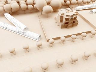 Altbau Villa Planung Architektur Landschaft