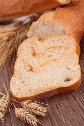 close up on fresh bread