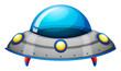 A spaceship toy