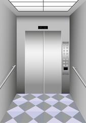 A building elevator