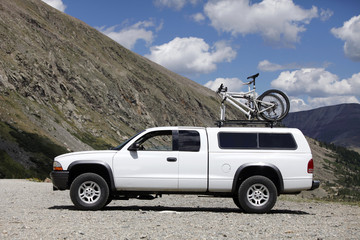 Truck mountain bike