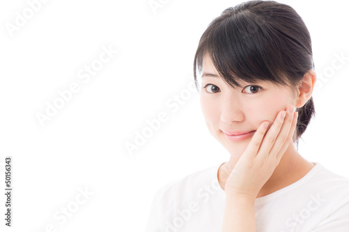 beauty image of  young asian woman