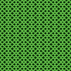 abstract green shape pattern