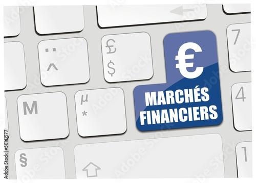 clavier marchés financiers