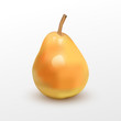 Vector illustration of a pear.