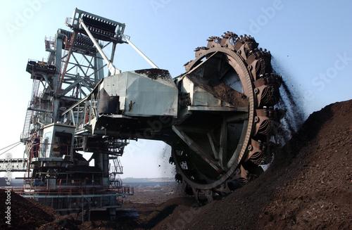 Leinwanddruck Bild coal1