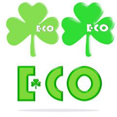 エコ、エコロジーのアイコン