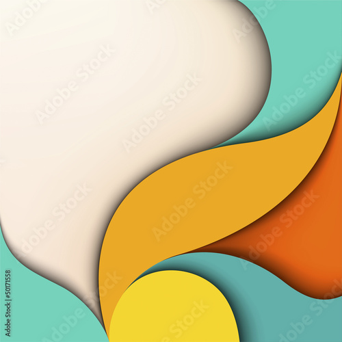 Colorful design. Wavy background