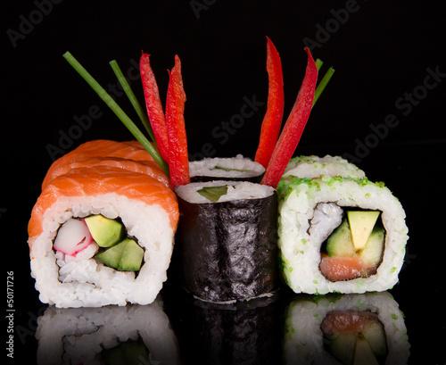 Japanese seafood sushi © Lukas Gojda