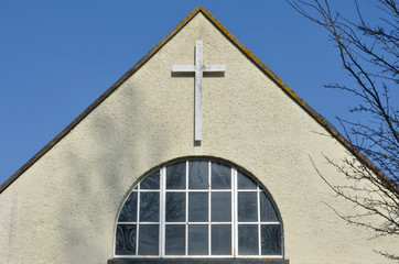 Plain Church front