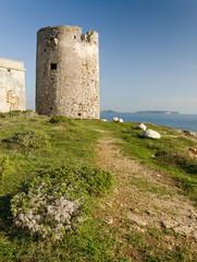 Sardegna, Cabras (Or), torre spagnola di Seu