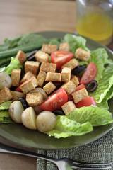 Soy tempeh salad