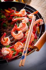 shrimp roast Indonesian