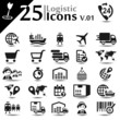 Logistic icons set, basic series