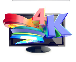 4-K TV ultra high definition television