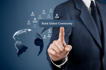 Build global community