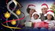 Christmas family montage