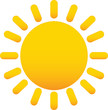 sole - icone meteo