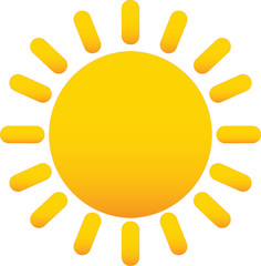 sole - icone meteo