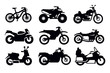 motorcycles and bicycles - 50178505