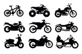 Fototapety motorcycles and bicycles